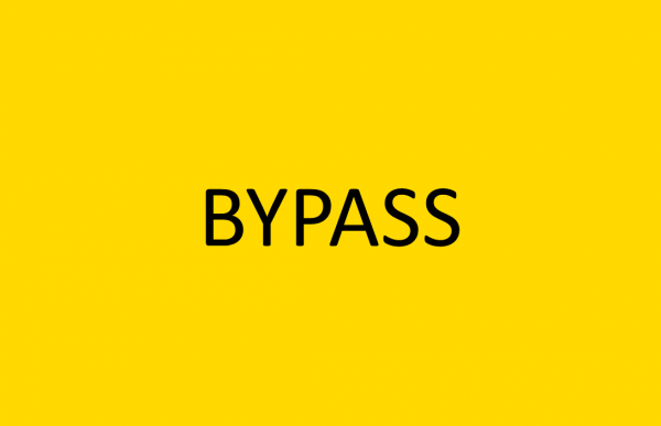 Bypass rioolafsluiters